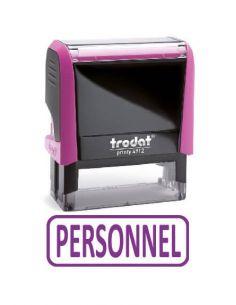 """Tampon encreur """" personnel """" formule commerciale xprint trodat 4992.18"""