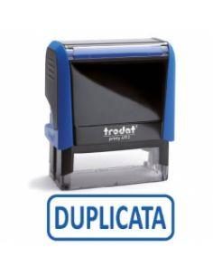 """Tampon encreur """" duplicata"""" formule commerciale xprint trodat 4992.09"""