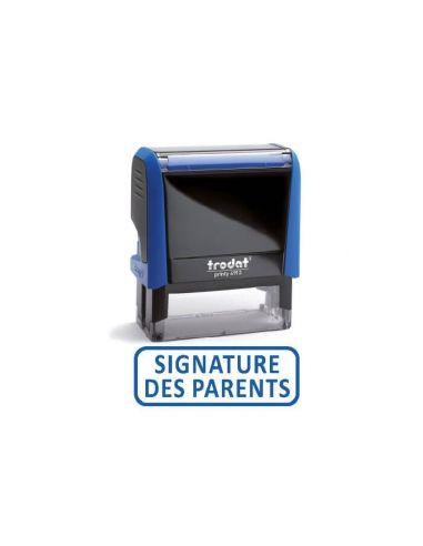 Tampon encreur Trodat Printy 4992 x print formule commerciale SIGNATURE DES PARENTS