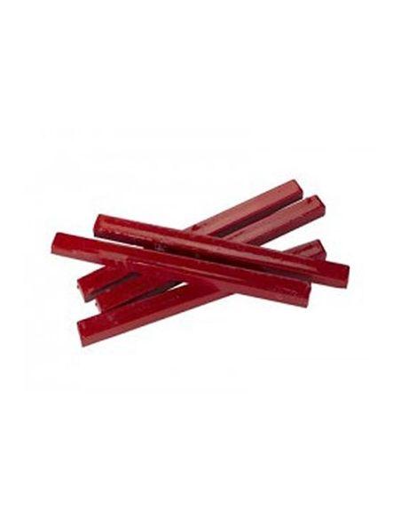 Boîte de 10 Bâtons de cire rouge 450 grammes au total