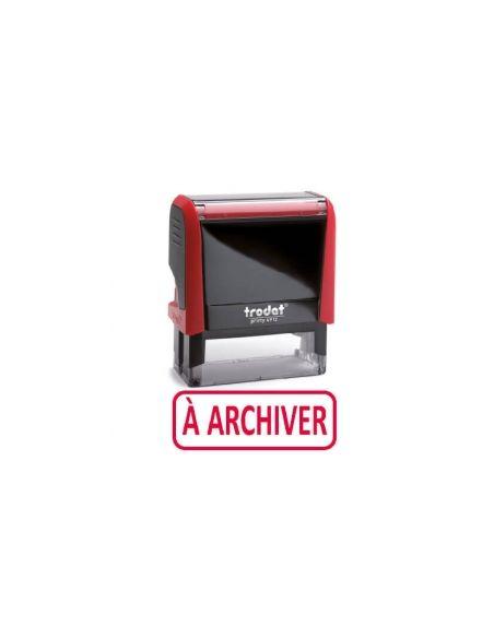 """Tampon encreur """" à archiver """" formule commerciale xprint trodat 4992.55"""
