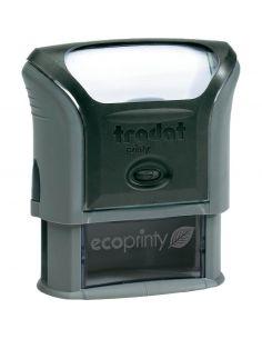 Tampon encreur 7 lignes encre noire personnalisé automatique Trodat Printy 4915