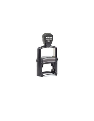 Tampon encreur 5 lignes Trodat Metal Line 5200 monochrome