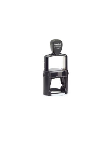 Tampon encreur 8 lignes Trodat Metal Line 52040 monochrome