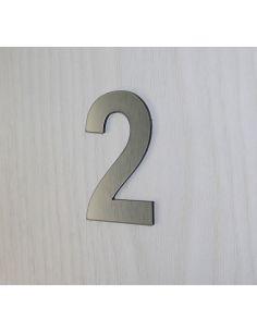 Numéro de porte 6cm en plastique