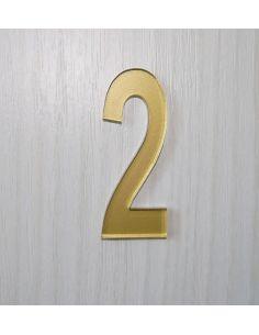Numéro de porte 6cm en plexi