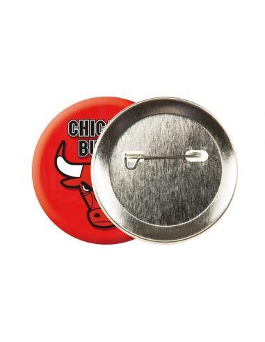 Badge rond dia 38 mm avec épingle