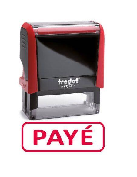 """Tampon encreur """" payé """" formule commerciale xprint trodat 4992.02"""