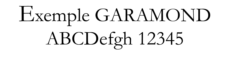 Garamond
