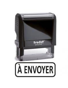 """Tampon encreur """" A envoyer """" formule commerciale xprint trodat 4992.62"""