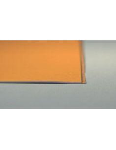 Mousse adhésive double face blanc 25x35 cm ép 1,5mm