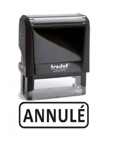 """Tampon encreur """" Annulé """" formule commerciale xprint trodat 4992.20"""