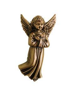 ange funéraire en bronze pour plaque hauteur 10 cm