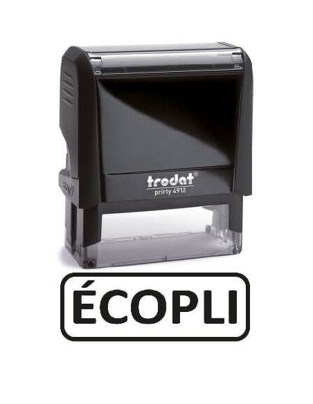 """Tampon encreur """" ecopli """" formule commerciale xprint trodat 4992.36"""