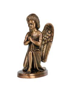statue ange funéraire en bronze pour plaque hauteur