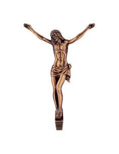 Tete du Christ funéraire en bronze pour plaque hauteur 17