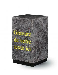 Urne en granit 3 litres couleur mass blue