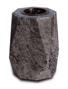 Vase funéraire en granit mass blue