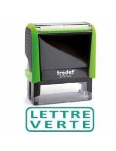 """Tampon encreur """" lettre verte """" formule commerciale xprint trodat 4992.35"""