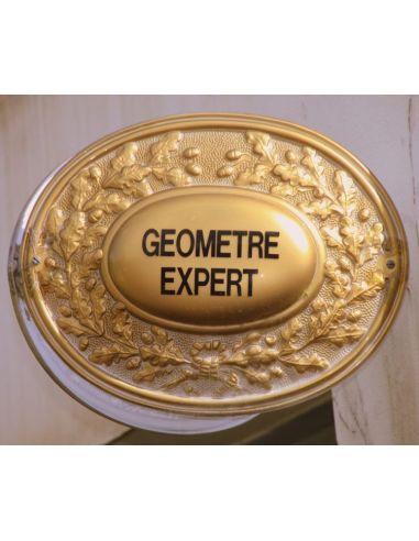 panonceaux geometre expert