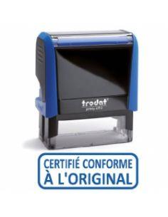 """Tampon encreur """" certifie conforme a l'original """" formule commerciale xprint trodat 4992.09"""
