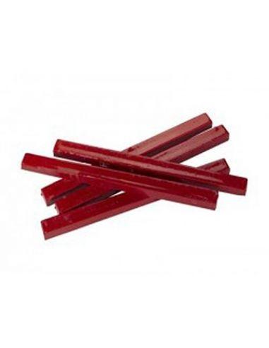 Boîte de 10 Bâtons de cire rouge
