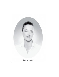 Médaillons ovale 7x9 cm noir et blanc photo funéraire porcelaine pour portrait