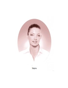 Médaillons ovale 6x8 sepia photo funéraire porcelaine pour portrait