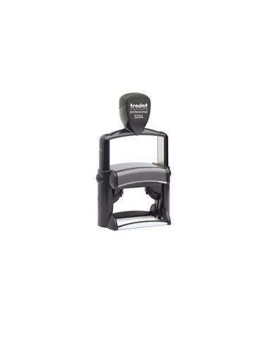 Tampon encreur 6 lignes Trodat Metal Line 5204 monochrome