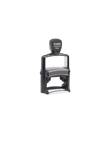 Tampon encreur 8 lignes Trodat Metal Line 5206 monochrome