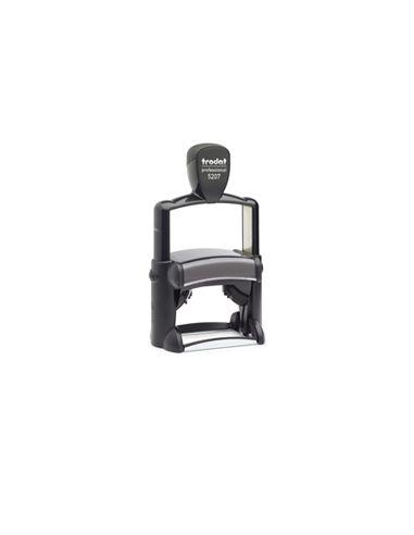 Tampon encreur 9 lignes Trodat Metal Line 5207 monochrome