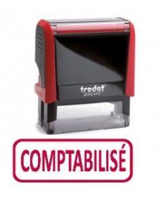 """Tampon encreur """" comptabilisé """" formule commerciale xprint trodat 4992.04"""