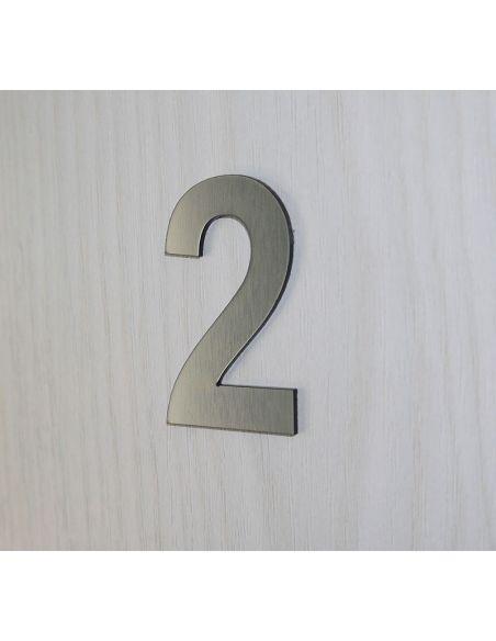Numéro de porte 3cm en plastique