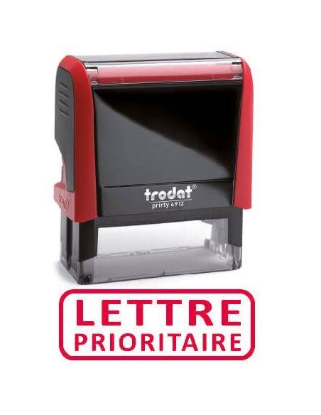 """Tampon encreur """" lettre prioritaire """" formule commerciale xprint trodat 4992.34"""